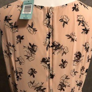torrid Dresses - Torrid Blush Floral Chiffon Tank Dress 18